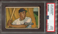 1951 Bowman #305 Willie Mays RC card PSA 2