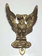 Vintage brass eagle door knocker