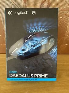 Logitech G302 Daedalus Prime MOBA Gaming Mouse New Sealed Box