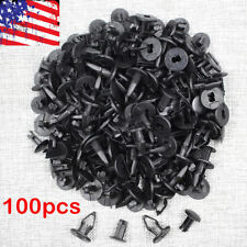 100 Fender Liner Clips Flares Retainer Push-Type Fastener For GMC GM 11589292