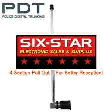 POLICE FIRE EMS SCANNER ANTENNA - Realistic Regency (BNC Type) Bearcat & Others