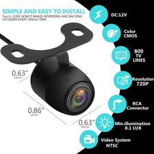 Car Reversing Camera Front Side Rear View Backup Mini IR Night Vision Waterproof