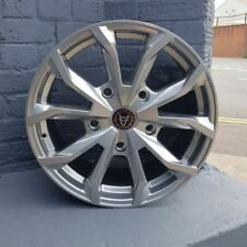 Aluminium WolfRace One Piece Rim Wheels with Tyres