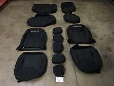 MOPAR 2013-2017 JEEP WRANGLER JK JKU SAHARA 4 DOOR BLACK SEAT COVERS FRONT REAR