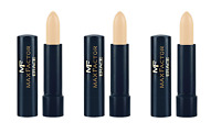 Max Factor Erace Cover Up Stick - 07 Ivory (3 Pack)