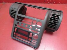 2003-2005 INFINITI G35 COUPE OEM RADIO STEREO CLIMATE CONTROL TRIM BEZEL COVER