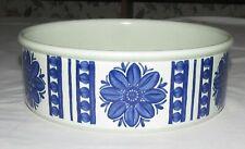 """Midwinter Blue Dahlia 8"""" Round Vegetable Bowl"""