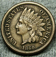 1860 Indian Head Penny **Historic Date**   BIG SALE