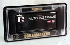 Purdue Boilermakers Chrome Metal License Plate Frame FREE US SHIPPING