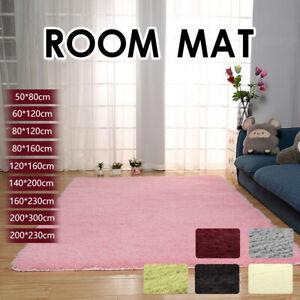 Floor Rug Shaggy Area Rugs Soft Large Carpet Tie-dyed Living Room Mat Bedroom AU