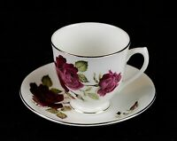 Elizabethan Fine Bone China by Taylor & Kent England, Vintage Cup and Saucer