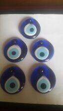 Glas Anhänger Blaues-Auge ca. 5cm verschiedenen Größen,Türkische Glücksbringer