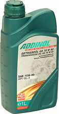 ADDINOL Getriebeöl GS75W90 1 Liter 75W-90 GL-4 teilsynthetisch 1L