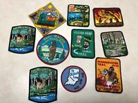 Lot of 10 Boy Scout Trail Patches