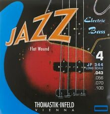 Thomastik-Infeld Jazz Bass Long Scale 43-100 Flatwound Electric Bass Strings