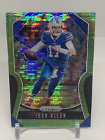 2019 Prizm Josh Allen 2nd Year Neon Green Pulsar Refractor (C) Buffalo Bills