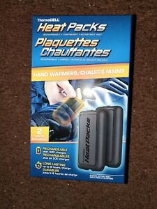 ThermaCell Heat Packs Rechargeable Hand Warmers Pair