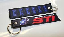 Subaru Impreza WRX STi Generations Key Tags Key Chain JDM EJ20 Turbo Rally GC8