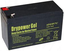 12GB7C 12V 7Ah Sealed Lead Acid Gel Deep Cycle Motive Power Battery LG7-12