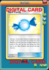 4X Rare Candy 142/168 Pokemon Online Card TCG PTCGO Digital Card