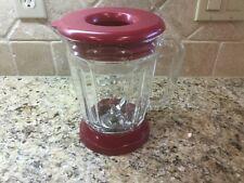 Margaritaville Frozen Concoction Maker Jar - Glass w/ Lid, Collar & Blades