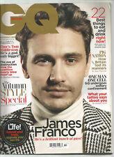 Gq British Revista Noviembre 2013 James Franco
