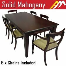 Mahogany Antique Style Dining Furniture Sets
