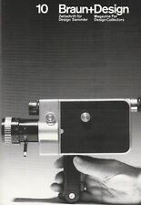 Braun + diseño revista 10 Nizo cámaras de cine Bolsillo Calculadora hfg Ulm modernista