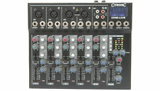 MIXER DESK CM6-LIVE 6 Channel Band Mixing Console Delay + USB/SD Player
