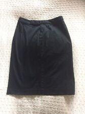 Original RALPH LAUREN Ladies Black Pencil Skirt-size 8 ( More Like 10) Worn Once