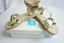 Elephantito Imported crossed sandals for Girls Gold Color - Size US 1 EU 31 NEW