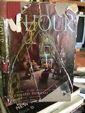 The Hour by Bernard DeVoto, 1951 Hcdj, On the Art of Drinking Whiskey & Martini