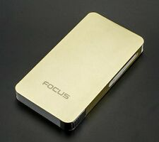 ULTRA THIN FOCUS Automatic Cigarette Case Dispenser with Built in Torch Lighter
