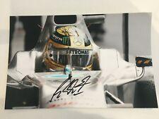 Michael Schumacher Mercedes F1 signed A4 photo *Genuine*