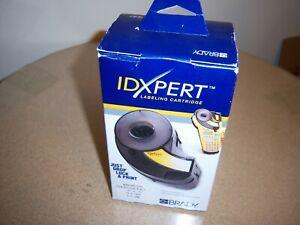 "Brady IDXPERT Label Cartridge: X-11-498, Repos Vinyl Cloth, .50""x .75"" NEW SEALE"
