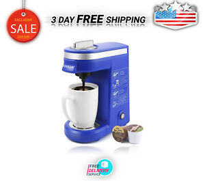 Coffee Maker MachineSingle Cup Pod Coffee Brewer With Quick Brew Technol Color