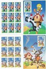 18 Looney Tunes MINT MNH Sheets  32¢ Stamps 1998 Bugs, Tweety,Sylvester & Wylie