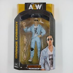 AEW Unrivaled Series 3 ORANGE CASSIDY Action Figure All Elite Wrestling NEW