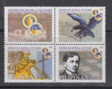 Philippine Stamps 2009 Ateneo de Manila 150th Yr Ann. Set MNH