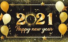 2021 New Years Eve Party Decorations Backdrop Banner Photo Booth Background Xmas