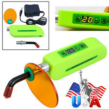 USA Dental Wireless Cordless LED Cure Curing Light Lamp 1500mw for Dentist BS300
