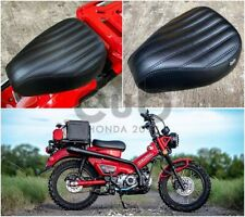 SEAT HONDA CT125 HUNTER 2020 - 2021 DRIVER TRAIL MOTO BLACK NEW V1