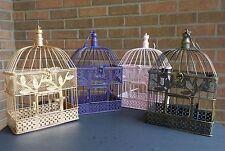 Bird Cage Card Holder, Custom Colors, Baby Shower Decor, Bridal Shower Decor
