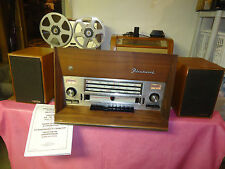 TUBE  STEREO  RECEIVER  WITH SHORTWAVE  FLEETWOOD 2052  1960'S ERA  VINTAGE