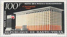 Upper Volta obervolta 1962 114 c7 Post Office Ouagadougou oficina postal Architecture **