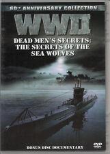WW II Dead Men's Secrets: The Secrets of the Sea Wolves (DVD) NEW