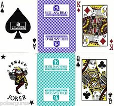 SAN REMO CASINO LAS VEGAS PLAYING CARDS- BRAND NEW-RARE