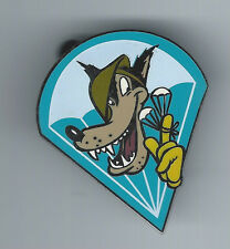 RARE Disney Catalog WWII Insignia Big Bad Wolf from 3 Little Pigs LE 1500 Pin