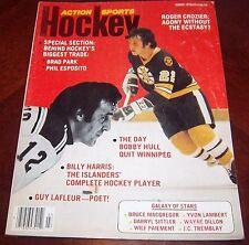 Action Sports Hockey Brad Park Phil Esposito 1976
