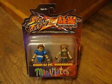 2012 DIAMOND SELECT MINIMATES-STREET FIGHTER x TEKKEN--CHUN LI & HWOARANG FIGURE